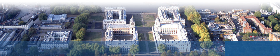 GALA Page Banner: Aerial view of the University of Greenwich